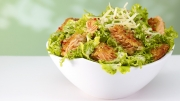 food photography salmon salad