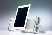 photography brookstone iPad loudspeaker boom box