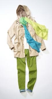 photography timberland woman pants scarf jacket