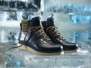 Timberland Abington leather boots on ice