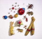 photography ladybugs rabbit toys bowling pins