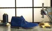 photography timberland blue suede shoes