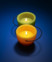 photography yin yang candles flame