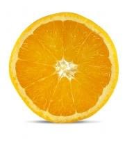 orange slice whole fruit