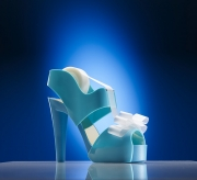 conceptual staples high heel tape dispenser