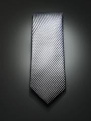 Mens silk dress tie grey gray