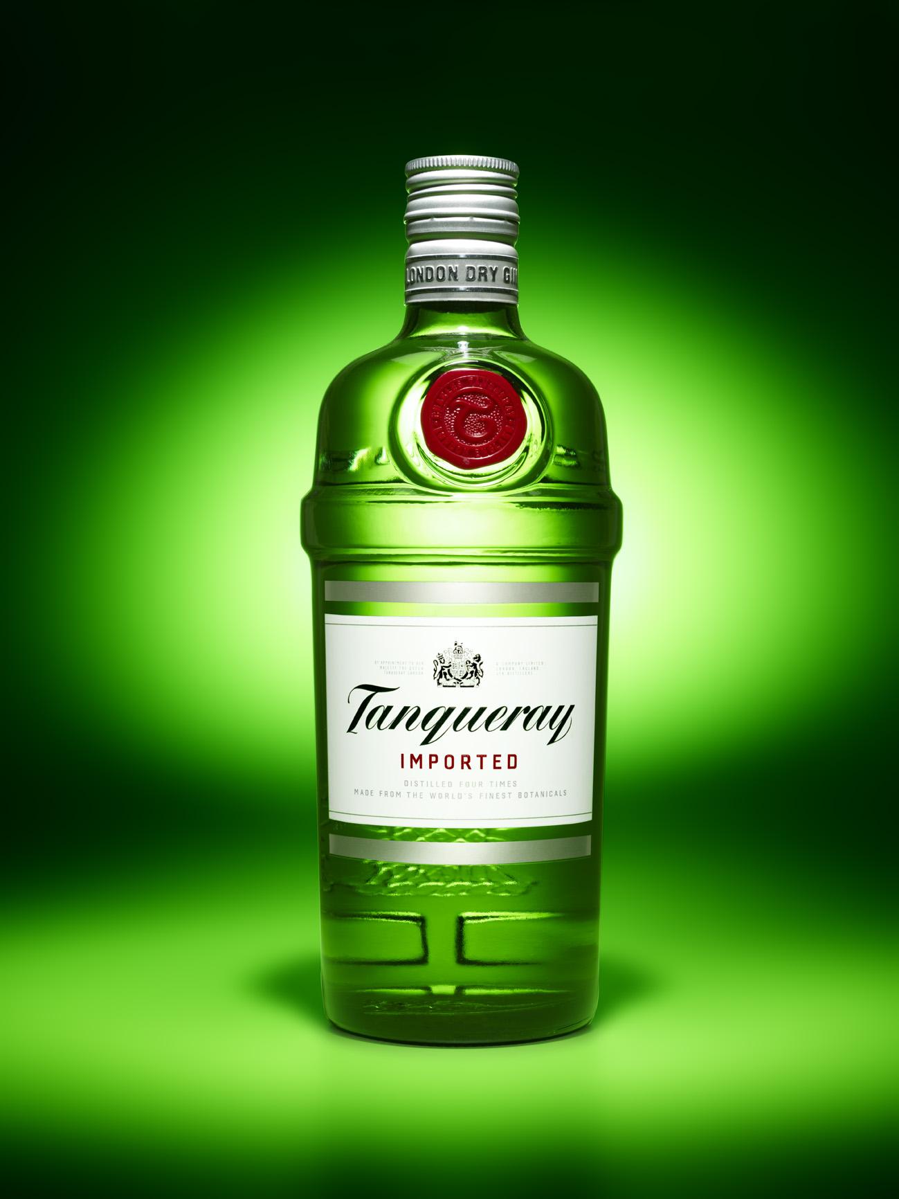 Tanquerey liquor bottle